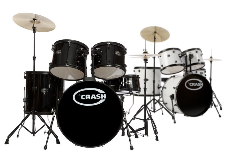 CRASH Force Five Schlagzeug für Einsteiger!