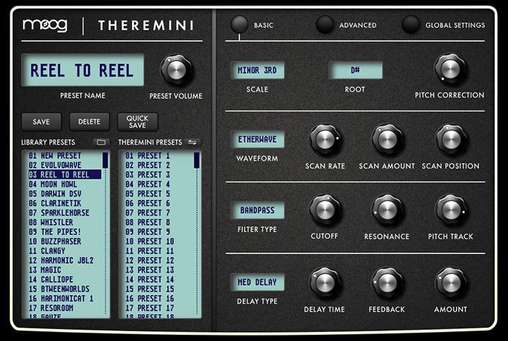 Theremini Editor Screenshot