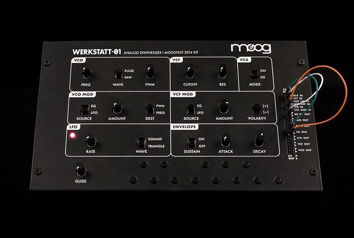 MOOG Werkstatt-01 Synthesizer Bausatz