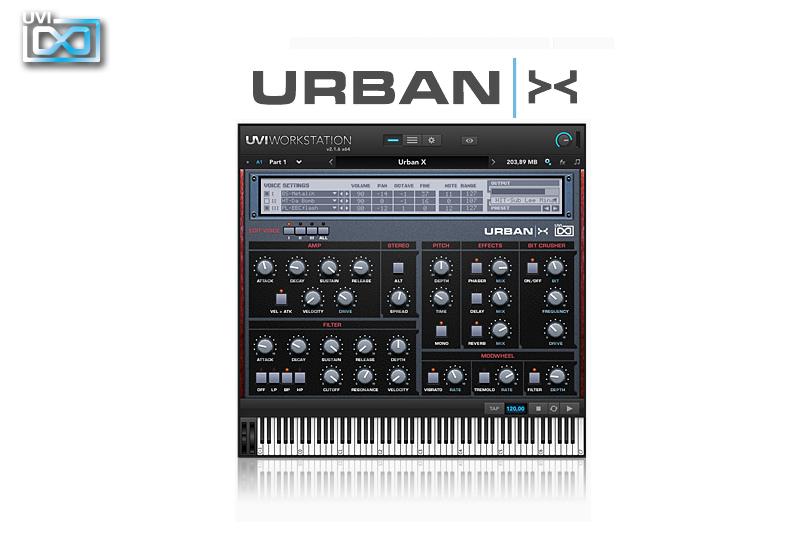 UVI Urban X Sample-Synthesizer