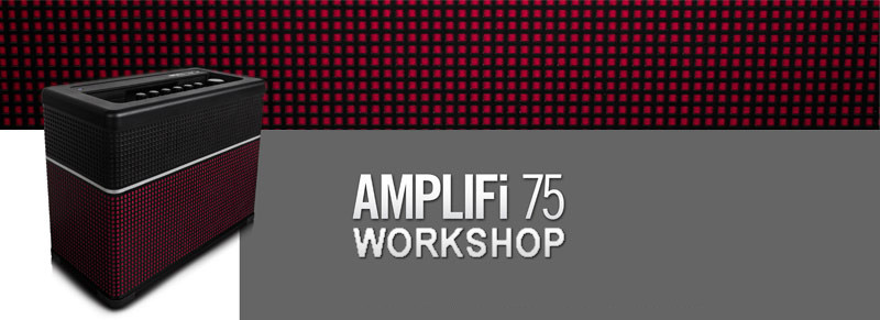 Line6 AMPLIFi Workshop im Music Store