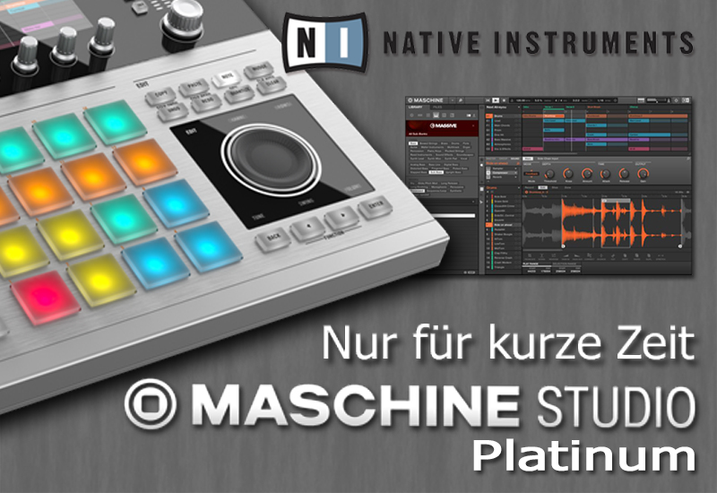 Limitierte Auflage: MASCHINE Studio Platinum