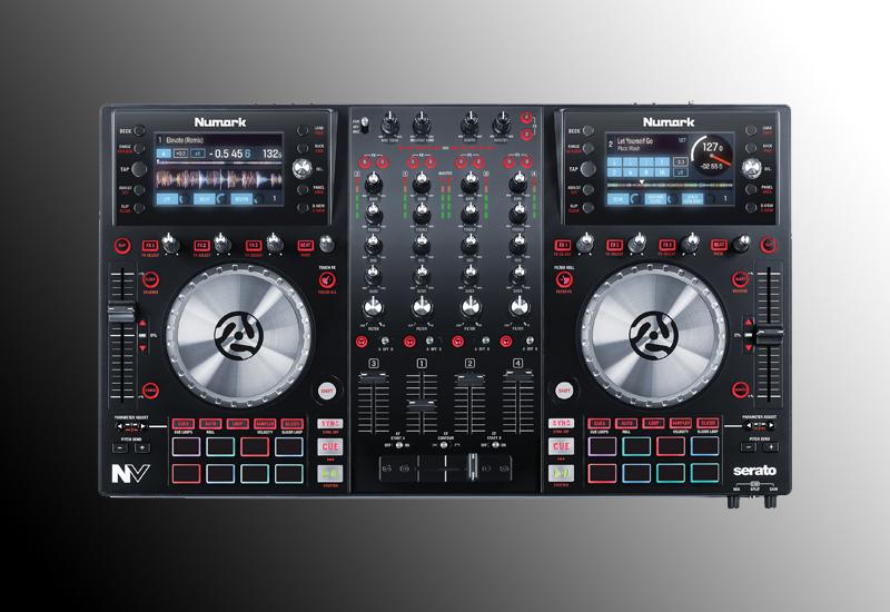 Numark NV | 4-Deck Controller für Serato DJ mit integrierten Screens