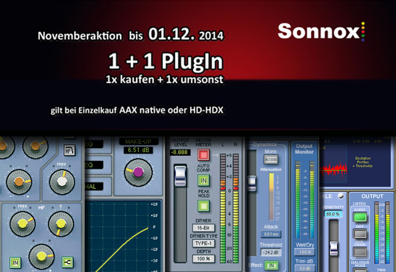 Sonnox Oxford Plugin Aktion