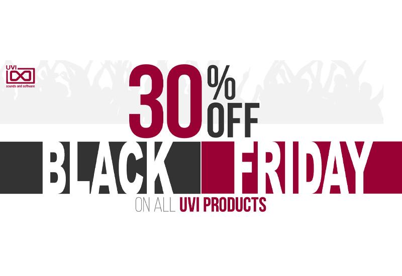 BLACK FRIDAY: UVI bis 01.12.14 alle Produkte -30%