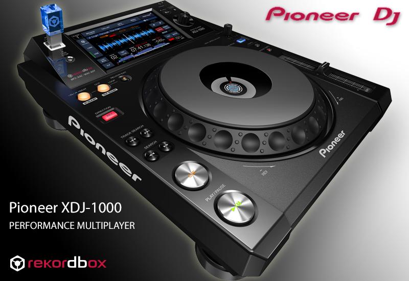 Pioneer XDJ-1000 USB-Player mit Touchscreen | HIER ERHÄLTLICH!!!
