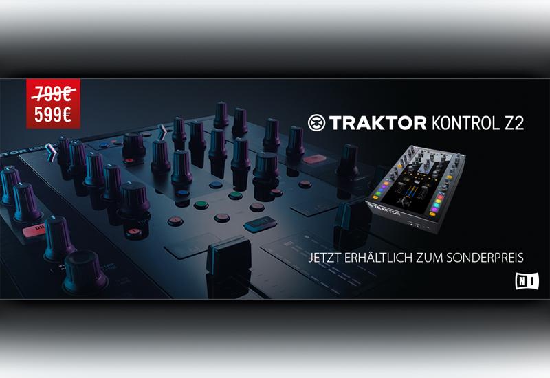 Native Instruments TRAKTOR KONTROL Z2 | JETZT zum AKTIONSPREIS!!!