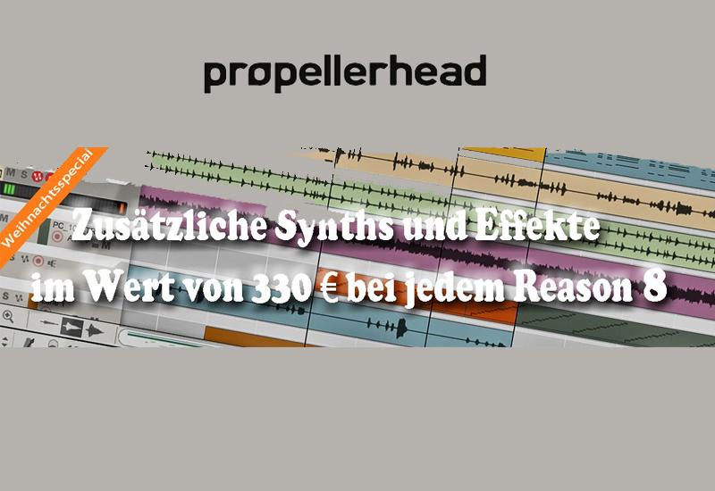 Propellerhead Weihnachts-Special vom 28.11. bis 31.12.2014
