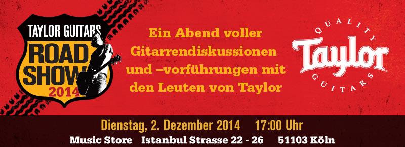 Taylor Road Show Dezember 2014