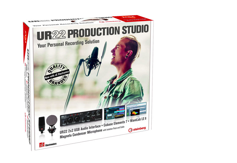 UR22 Production Studio von Steinberg