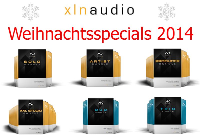 XLN Audio Weihnachts-Special vom 1.12. bis 31.12.2014