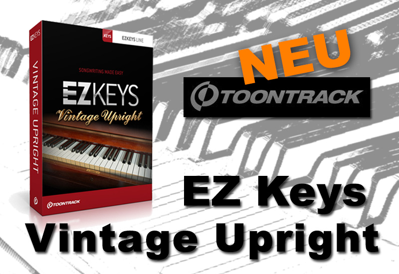 Toontrack EZ Keys Vintage Upright
