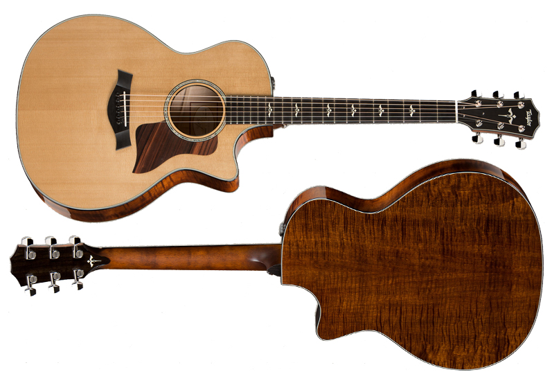 NAMM Show 2015 – TAYLOR  614ce 2015 First Edition