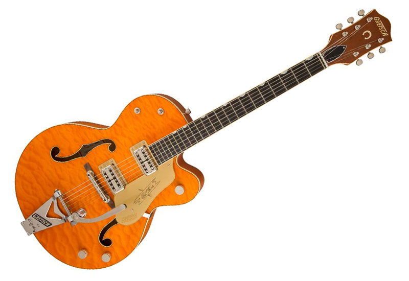 NAMM Show 2015 – GRETSCH G6120-1959LTV Chet Atkins Hollow Body Orange