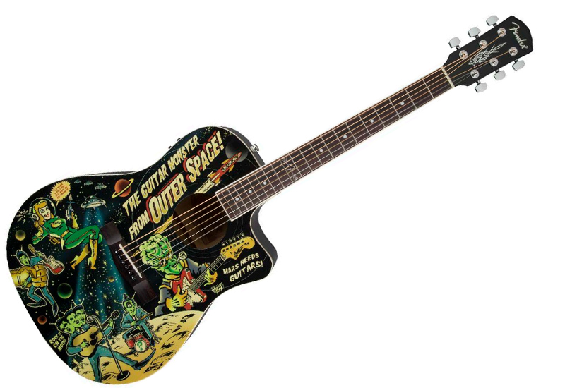 NAMM Show 2015 – FENDER  Vince Ray Outer Space
