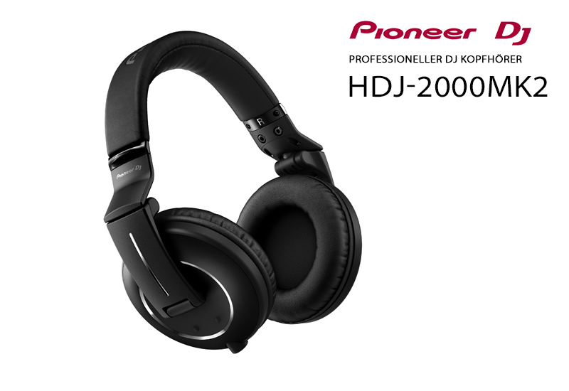 NAMM 2015 – PIONEER präsentiert neuen HDJ-2000MK2 Kopfhörer