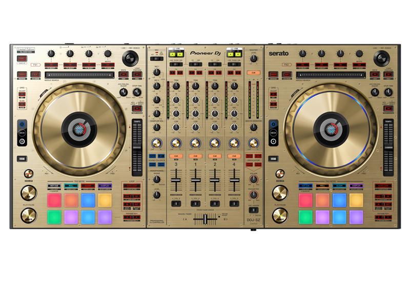 NAMM Show 2015 – PIONEER präsentiert limitierten DDJ-SZ-N DJ-Controller