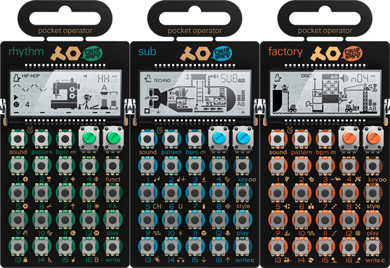 Musikmesse 2015: Teenage Engineering pocket operators