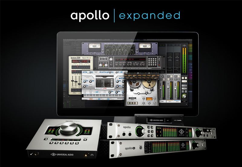 NAMM Show 2015 – Universal Audio stellt Apollo Expanded Software vor