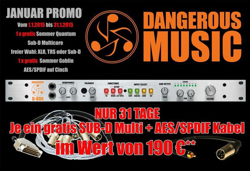 Dangerous D-Box Januar Promo