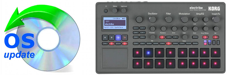KORG electribe – kostenloses Software-Update!