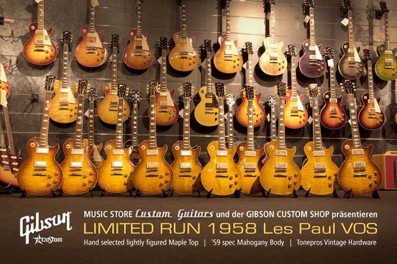 MUSIC STORE 'Custom Guitars' und GIBSON Custom