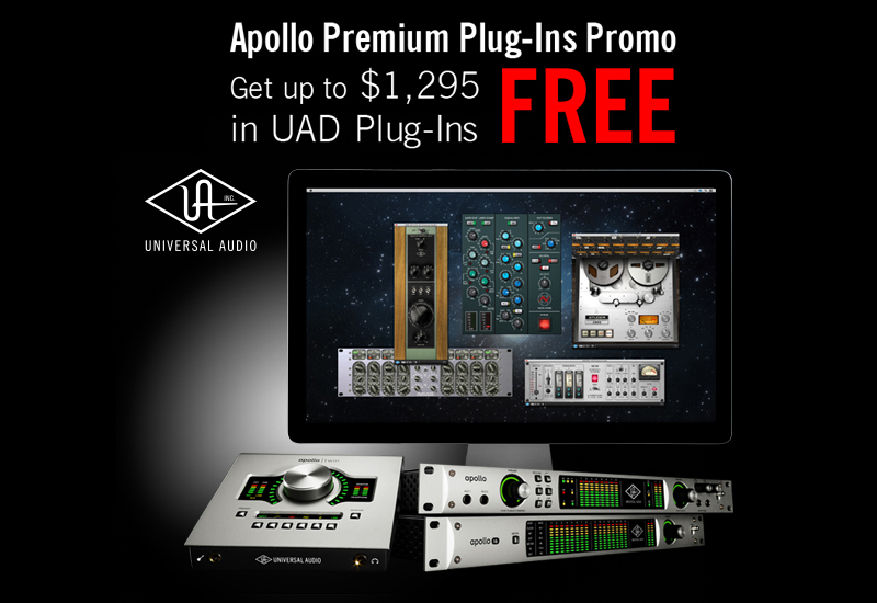 Universal Audio verlängert Apollo Plugin Promotion