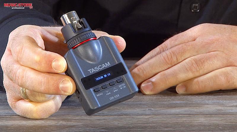 TASCAM DR-10X PCM Audio Recorder für Mikrofone