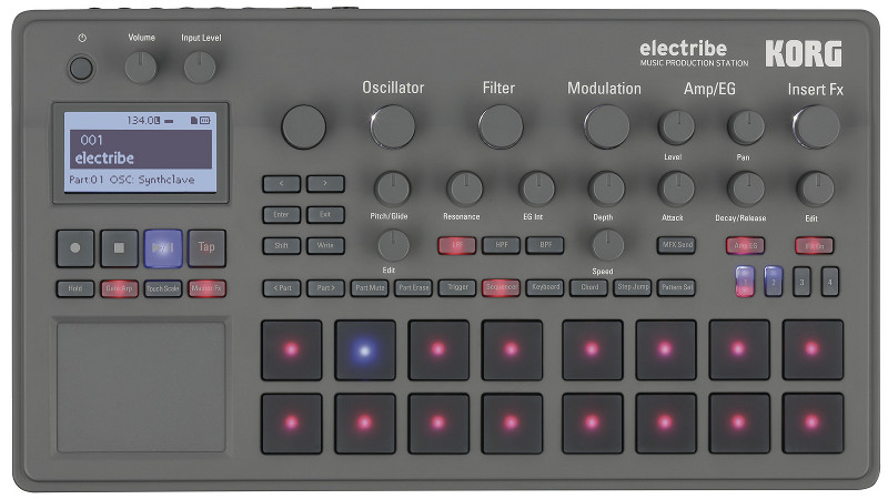KORG Electribe 2 Non Stop Sound Demo Video