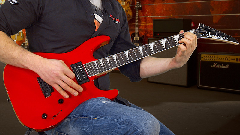 Jackson JS22 Dinky DKA Ferrari Red Ltd. Edition