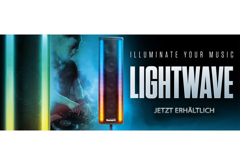NUMARK – LIGHTWAVE – Aktivlautsprecher inklusive LED-Beleuchtung