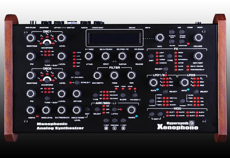 XENOPHONE – analoger mono Synthesizer