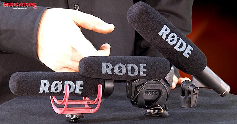 RØDE Mikrofon Vergleich VideoMic Go + Pro + NTG1