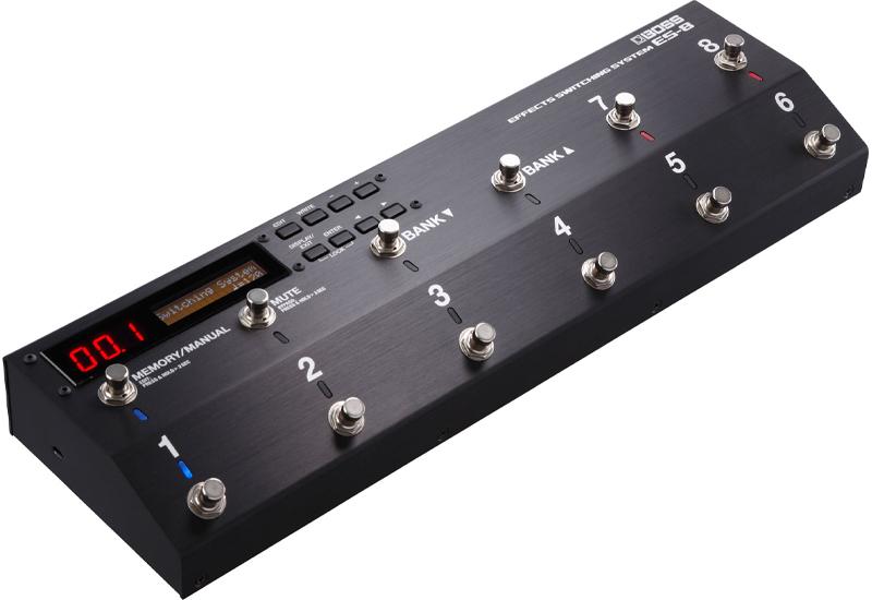 Musikmesse 2015 – BOSS ES-8 Effekt Switching System