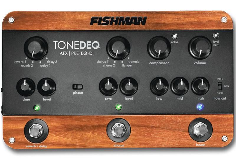 Musikmesse 2015 – FISHMAN Tone DEQ AFX