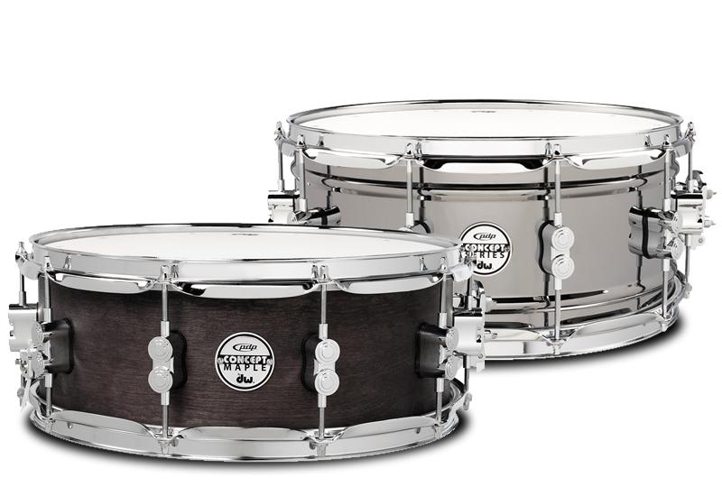 Musikmesse 2015 – Neue Snare Drums von PDP