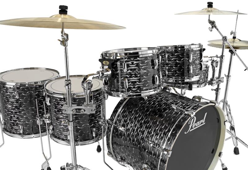 Musikmesse 2015 – Pearl mit neuen VBA Drums für Europa
