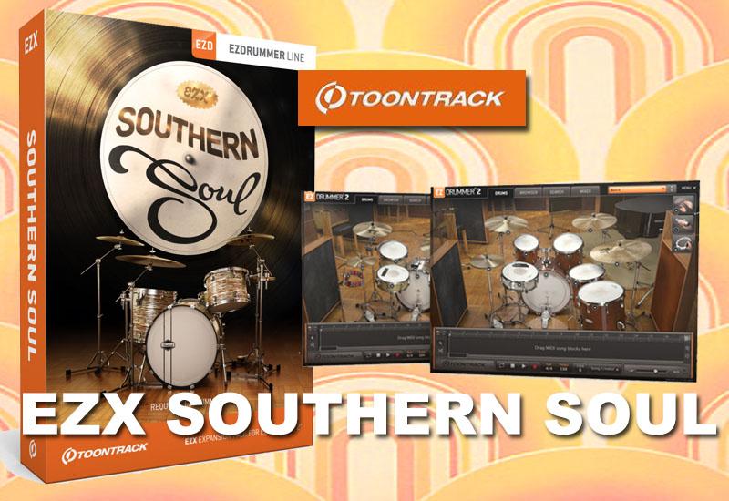 Neue EZ Drummer Erweiterung: Toontrack EZX Southern Soul