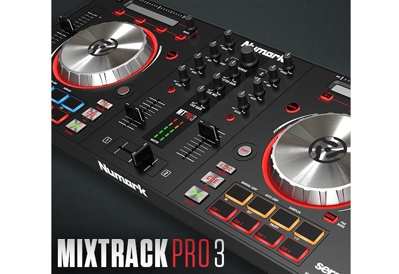 NUMARK – MIXTRACK PRO 3 | 2-Deck All-In-One DJ Controller für Serato DJ | Jetzt Lieferbar!