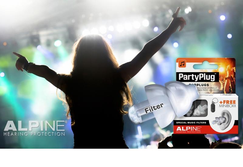 Einer für jeden Anlass: Gehörschutz von Alpine