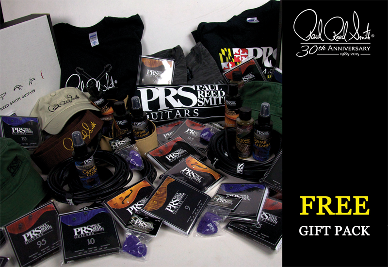 PRS 30th Anniversary Sommer Free Give-Away Aktion!