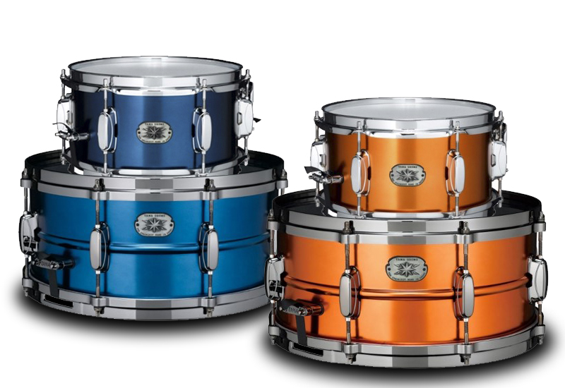 Tama mit Special Edition Metalworks Snare Drums