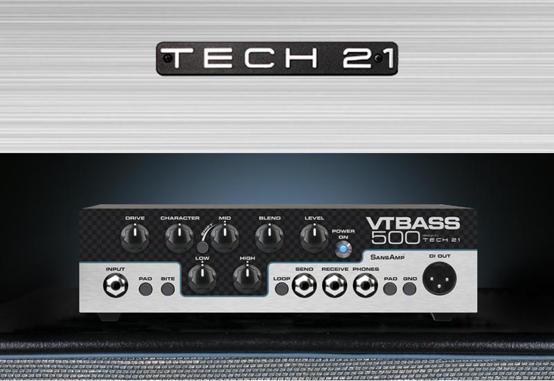 Tech 21 VT Bass 500 Top