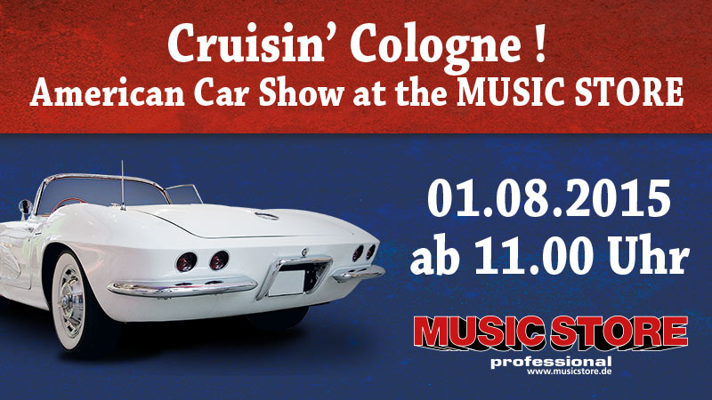 Cruisin' Cologne American Car Show 2015