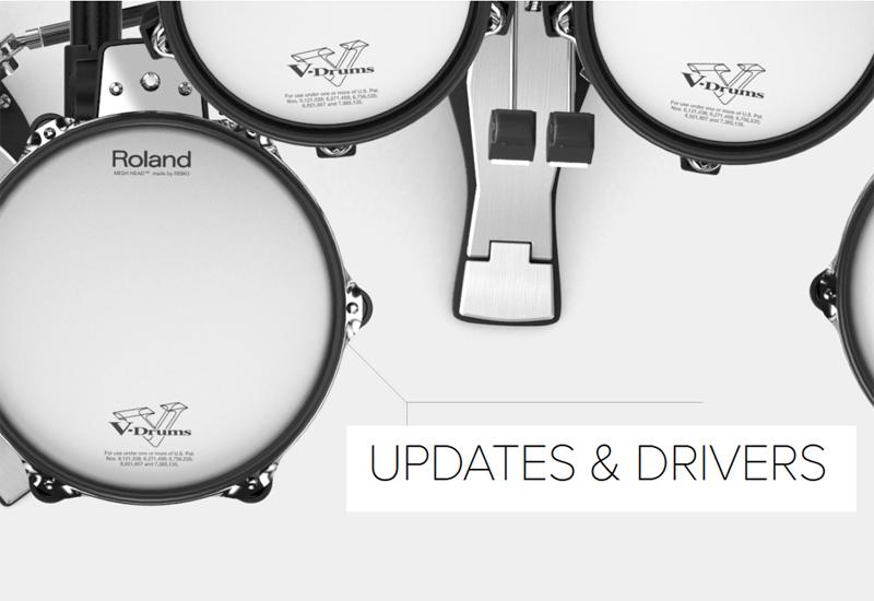 ROLAND TD-25 Soundmodul Updates und mehr…