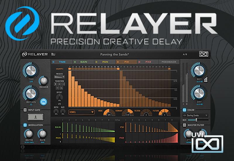 UVI veröffentlicht Relayer – Precision Creative Delay