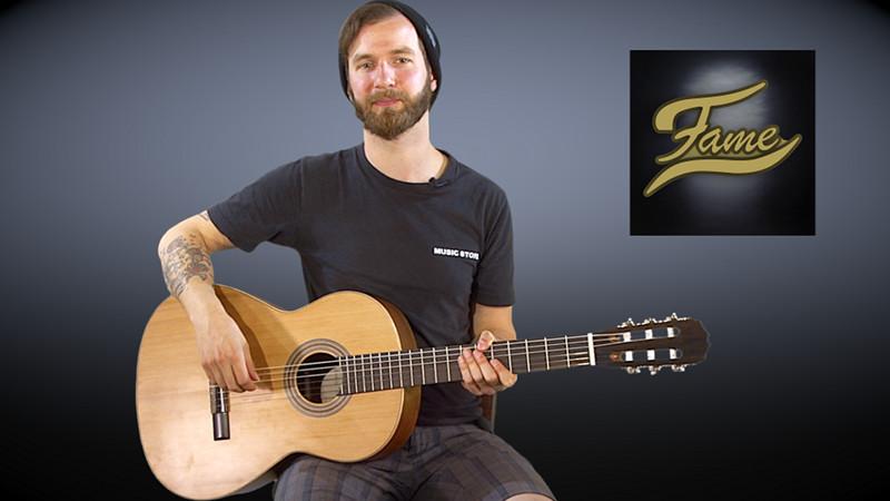 FAME Bonita Cedro Akustikgitarre im Video-Test