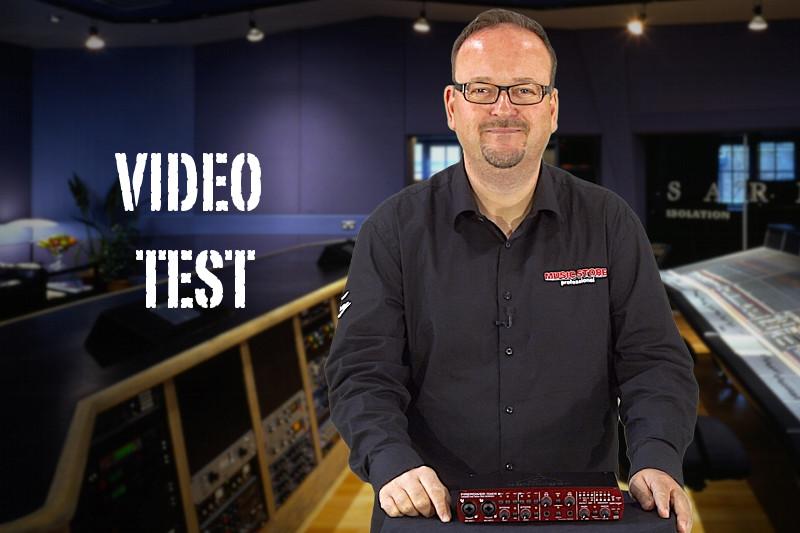 Behringer Firepower FCA610 im Video Test
