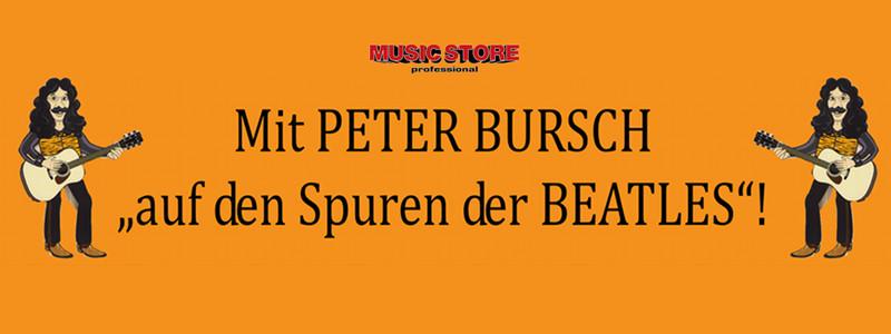 Mit PETER BURSCH auf den Spuren der BEATLES