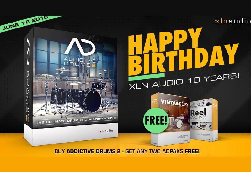 XLN Audio 10-Jahres-Special